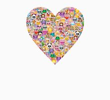 happy emoji pattern Unisex T-Shirt