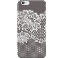 Lace ribbon. iPhone Case/Skin