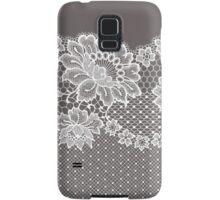 Lace ribbon. Samsung Galaxy Case/Skin
