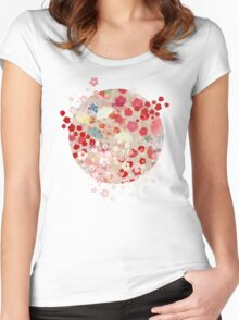 Blossom Women's Fitted Scoop T-Shirt