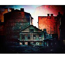 Abandoned city Photographic Print
