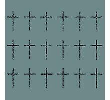Scribbles en Crosse Photographic Print