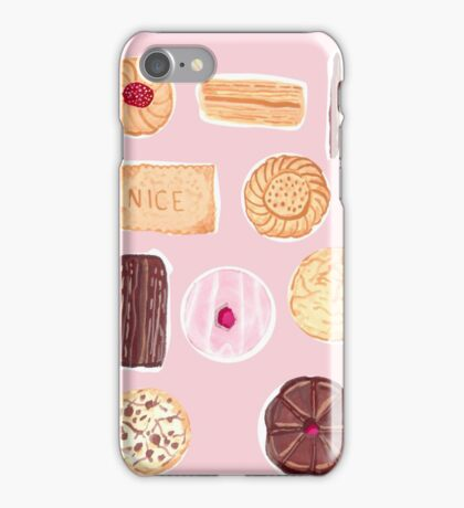 English Biscuits iPhone Case/Skin