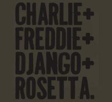 Charlie&Freddie&Django&Rosetta by dogpossum