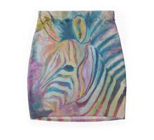 Zebra Splash Mini Skirt