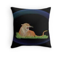 Totem - Cougar Throw Pillow