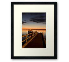 Point Richards Framed Print
