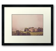 Countryside of Tuscany Framed Print