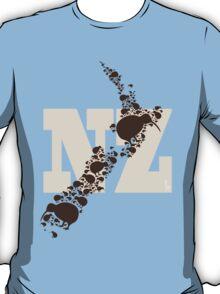 Map of Kiwiland T-Shirt