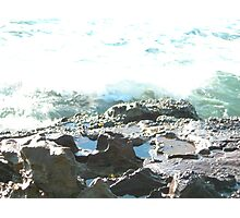 Sea meets land 2 Photographic Print