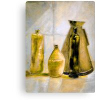 Yellow Morning After 1.0 Canvas Print
