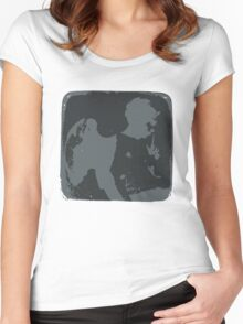 Messenger from the Inverted World Women's Fitted Scoop T-Shirt