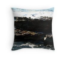 Sea meets land 3 Throw Pillow