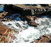Sea meets land 7 Photographic Print