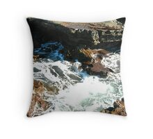Sea meets land 7 Throw Pillow