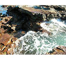 Sea meets land 8 Photographic Print