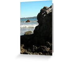 Sea meets land 10 Greeting Card