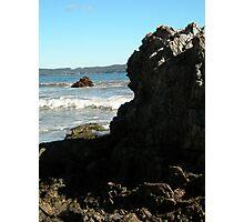 Sea meets land 10 Photographic Print