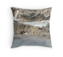 Sea meets land 12 Throw Pillow