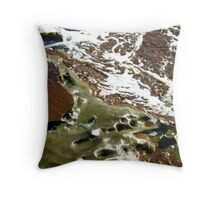 Sea meets land 13 Throw Pillow