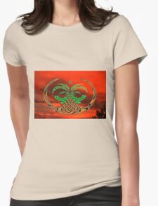 The Dawn of the Celtic Tree of Life No12 Womens Fitted T-Shirt