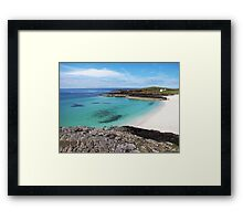 Highland Weather - the Best and the Worst! Framed Print