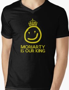 Moriarty is our king Mens V-Neck T-Shirt