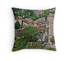 French History Throw Pillow