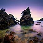 Oneroa Bay, Waiheke Island, NZ by Dean Mullin