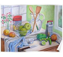 Still Life by Window Poster