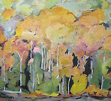 The Orange Trees by François Fournier