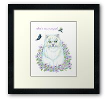 What's New Pussycat Framed Print