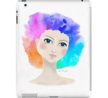 Rainbow-fro iPad Case/Skin