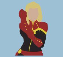 Captain Marvel Simplistic Kids Clothes