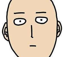 Saitama - One Punch Man by zetsuennoadams