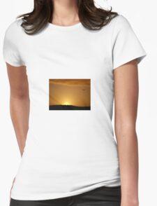 Golden Womens Fitted T-Shirt