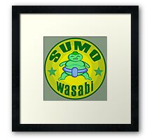 SUMO Wasabi Framed Print
