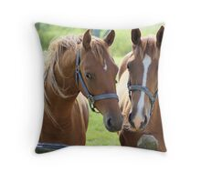 What a lovely couple Throw Pillow