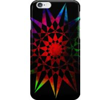 Colorful Trippy Star T-Shirt iPhone Case/Skin