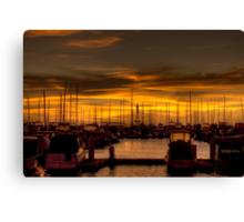 Hillarys Boat Harbour. WA Canvas Print