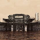 The West Pier, Brighton by Alixzandra