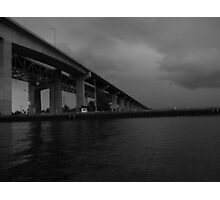 The Skyway From A Diffrent Perspective Photographic Print
