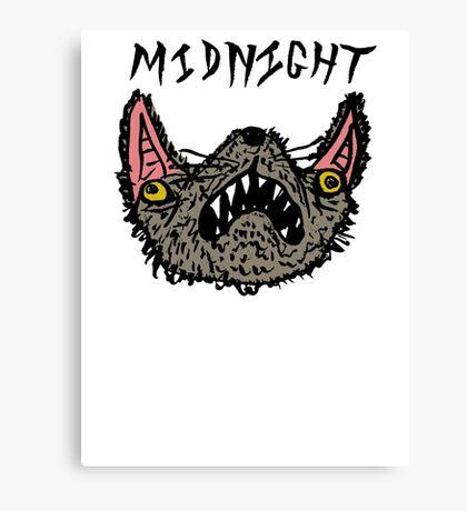 Midnight White Canvas Print