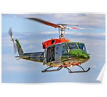 Bell 212EP AH.1 ZK206/A Hovering       Poster