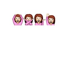 Emoji girls by noornoum