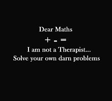 Dear Maths by CreativeEm