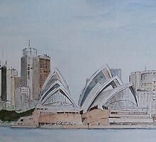 Sydney Opera House by Alan Harris