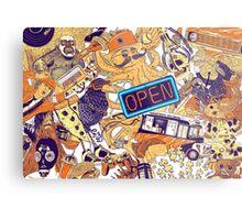 Urban Panel Metal Print