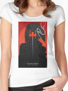Cowboy bebop - Faye Valentine Women's Fitted Scoop T-Shirt