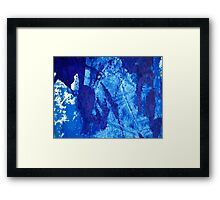 Blue Jazz Framed Print